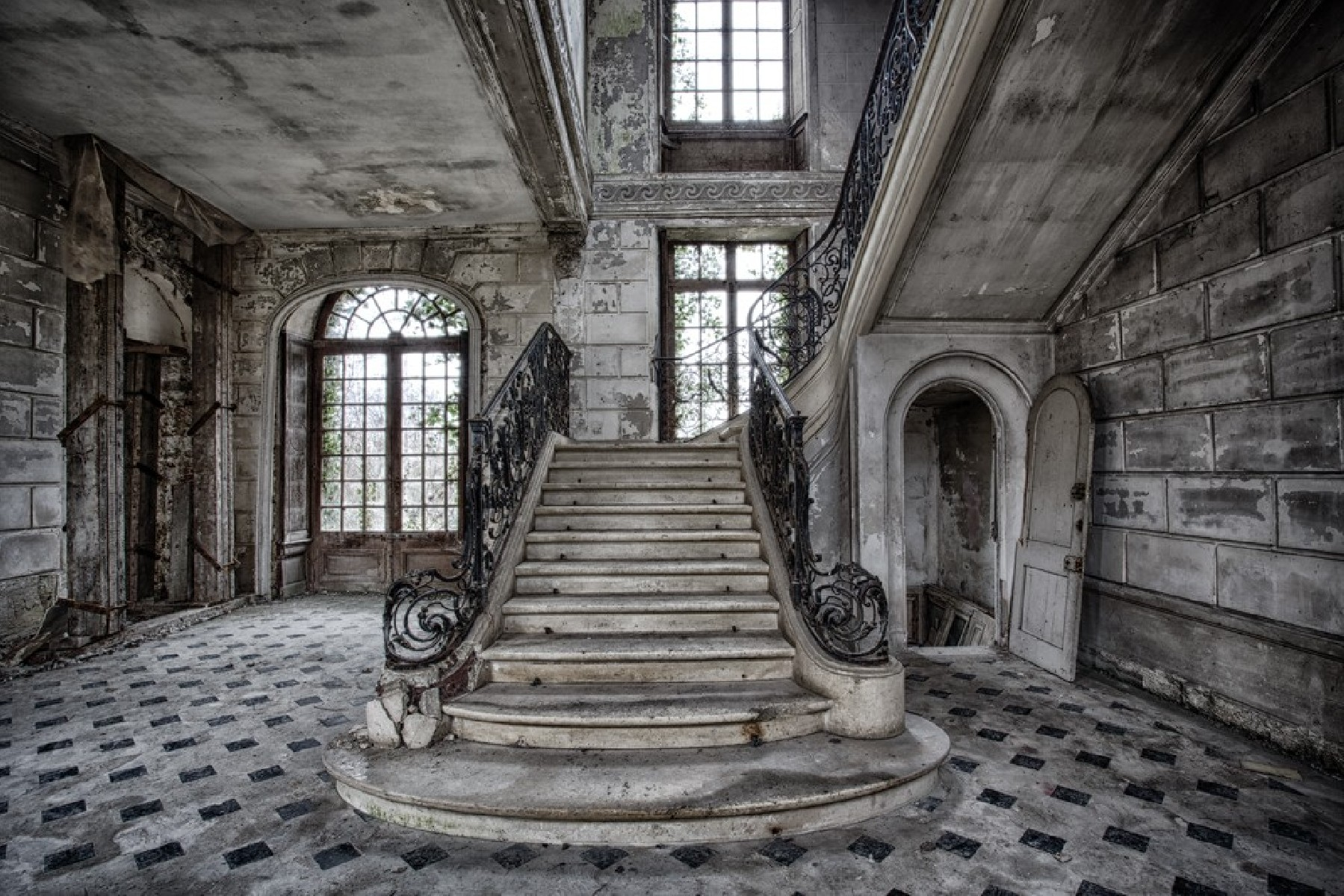 Stairway to the ghosts